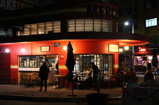 Cafe Toscano's Mercado Michoacan location. (Photo: Darren Popik)
