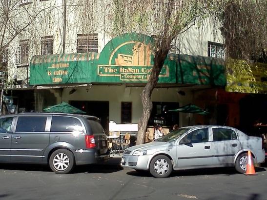 Italian Coffee Company at Michoacan and Tampaulipas. (Photo: Darren Popik)