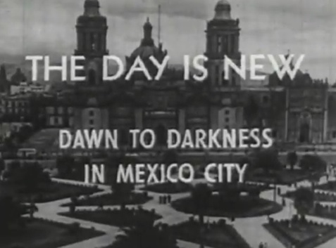 The Zócalo, as it looked when it had trees.