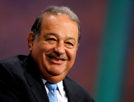 Mexican magnate - and all around good guy - Carlos Slim.