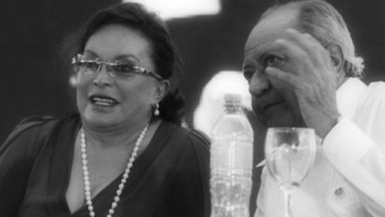 Frightening: Elba Esther Gordillo and Carlos Romero Deschamps, together.