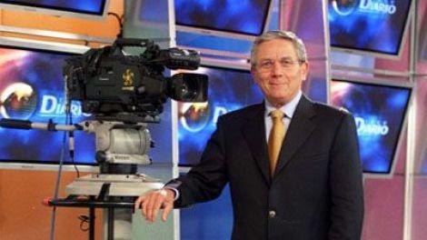 Monterrey's top news anchor, Hector Benavides, at Canal 12.