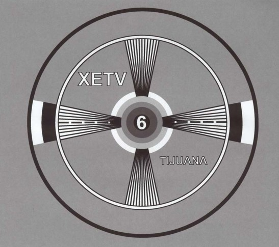 Old XETV Test Pattern.