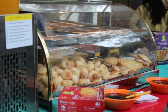 My favorite Brazilian snack - pan de queso. (Photo: Darren Popik)