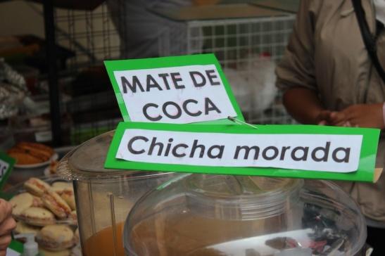 Mate de Coca - coca leaf tea drink typical of the Andean highlands. (Photo: Darren Popik)