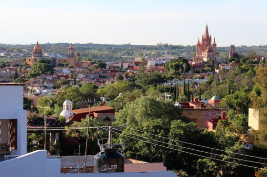 Panoramic View of San Miguel de Allende. (Photo: Darren Popik)