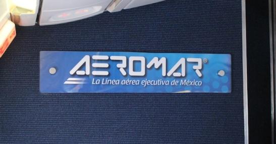 Aeromar, La Línea Aerea Ejecutiva de México. / Mexico's Executive Airline. (Photo: Darren Popik)