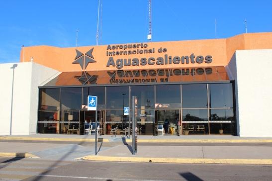 Aeropuerto Internacional de Aguascalientes (AGU). Photo: Darren Popik