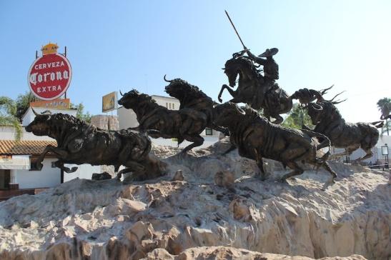 Monumento al Encierro, by Jorge de la Peña Beltrán. (Photo: Darren Popik)