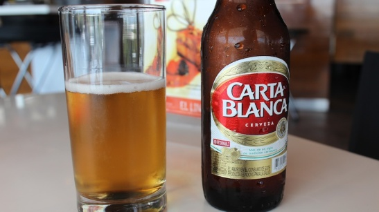 Carta Blanca: It's THEE beer in Monterrey. (Photo: Darren Popik)