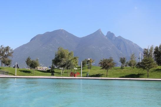 Monterrey's famous Cerro de la Silla mountain. (Photo: Darren Popik)