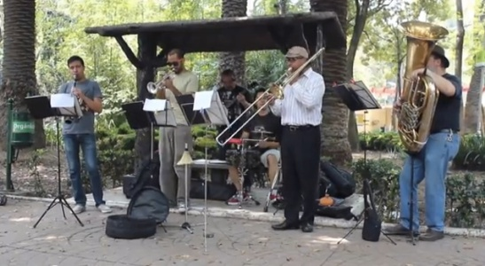 Dixieland Jazz - Parque Mexico
