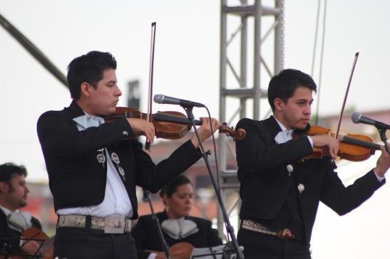 Live music on stage. (Photo: Darren Popik)